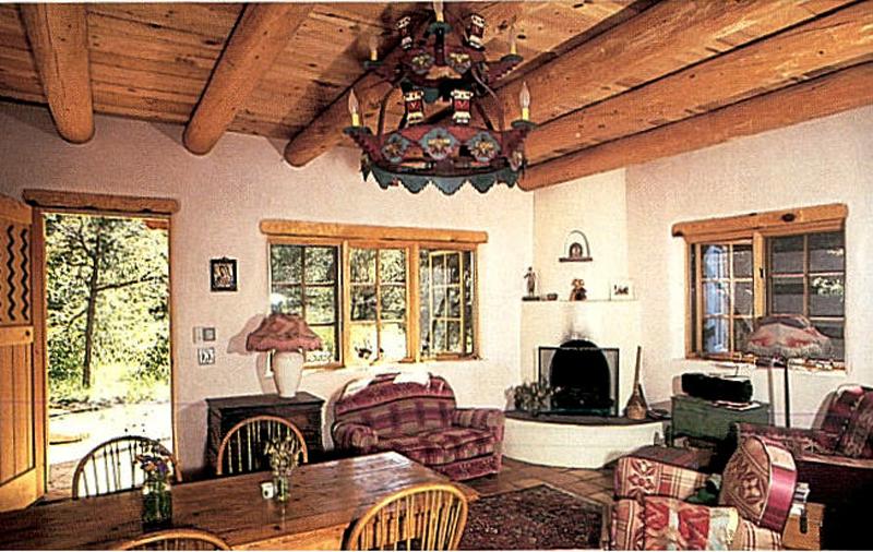 Adobe house interior design design decoration for Adobe home design